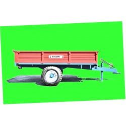 Remorca 2.5 tone BRT125GCF Remorci agricole