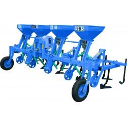 Cultivator pe 5 randuri cu fertilizare Cultivatoare