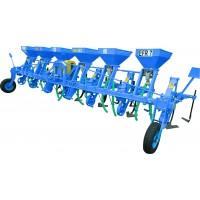 Cultivator pe 7 randuri cu fertilizare