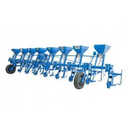 Cultivator pe 9 randuri cu fertilizare Cultivatoare