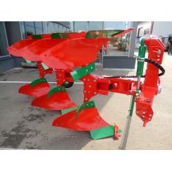 Plug reversibil hidraulic AGRO MASZ cu 3 brazde, POL 3