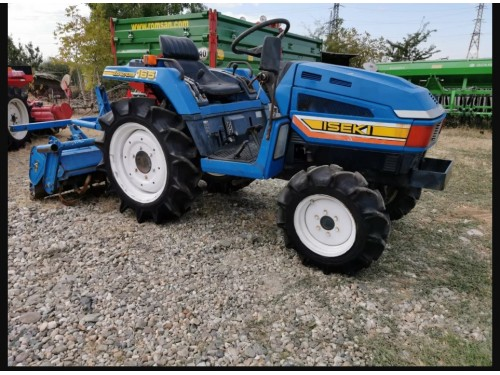 Tractor Japonez Iseki 165 LandHope 4x4 cu freza de 130 cm