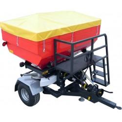 Masina de fertilizat 2500 lt. tractata