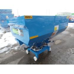 Masina de imprastiat ingrasaminte chimice 1500 L